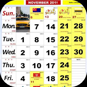 Malaysia Kalendar Hijrah 2017