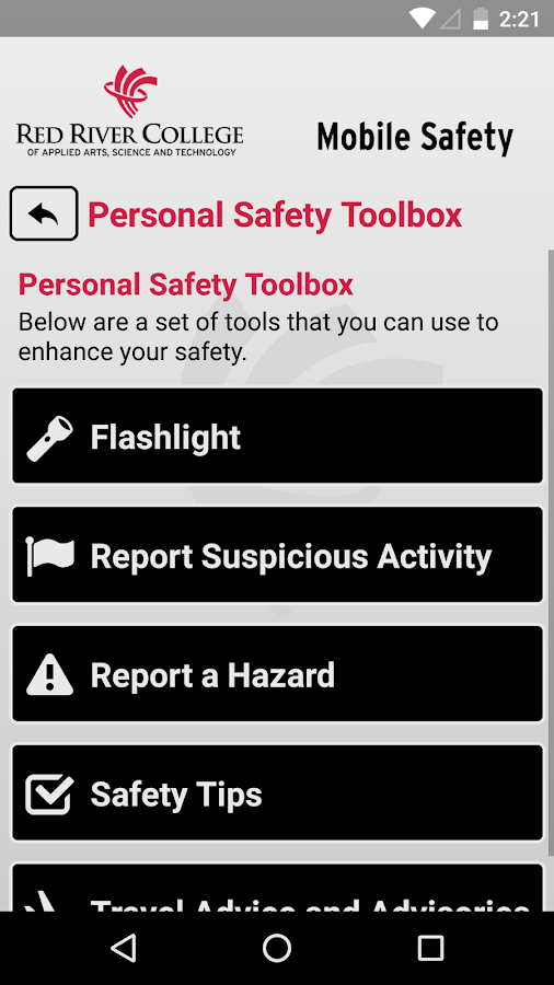 Mobile Safety- screenshot