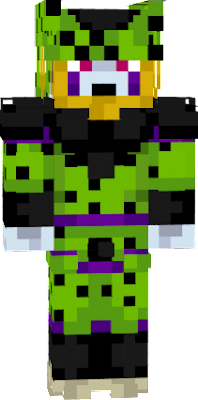 i added spots to a skin of cell. i think it makes him look better. credit to original skin creator.