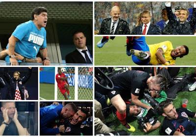 De opvallendste momenten buiten de lijnen van het voorbije WK