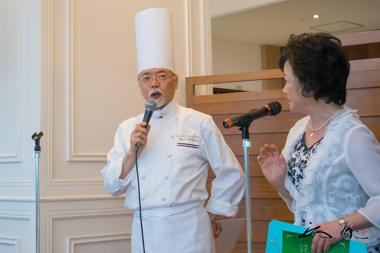 高橋シェフによるお料理の説明
