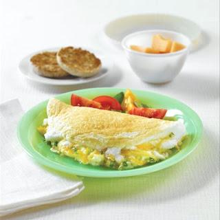 Fluffy Egg White Omelette