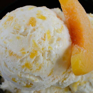 Peaches and Cream Ice Cream Recipe