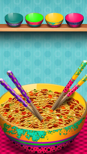 Cooking Games The Noodles Maker Mania screenshots 2
