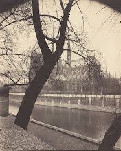 """Photo: TO GO WITH AFP STORY: US-EXHIBIT-PHOTO This image released by the National Gallery of Art in Washington, DC, shows a photograph by Eugene Atget (1857-1927) titled Notre Dame, 1922, an arrowroot print. The photograph is part of the """"Paris in Transition"""" exhibit at the gallery. The exhibit which runs from 11 February to 06 May presents the first photographs of Paris, at the time of the invention of photography, and shows the evolution of the city.   AFP PHOTO/NATIONAL GALLERY OF ART, Patrons' Permanent Fund, 2002.73.18/Eugene Atget /RESTRICTED TO EDITORIAL USE FOR THE DURATION OF THE EXHIBITION    =GETTY OUT= (Photo credit should read Eugene Atget/AFP/Getty Images)"""
