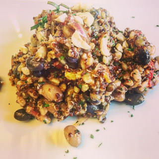 4 Bean Salad With Spelt And Quinoa