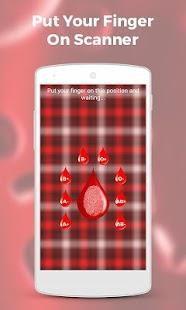 Blood Group Scanner Prank screenshot