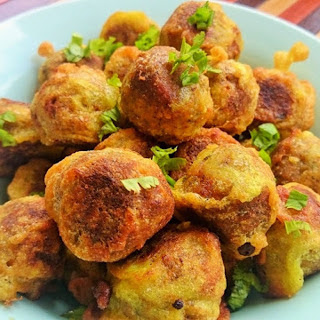 Tofu 'Fish' Fritters [Vegan]