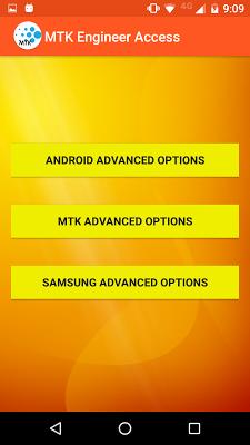 MTK Engineer Access - screenshot
