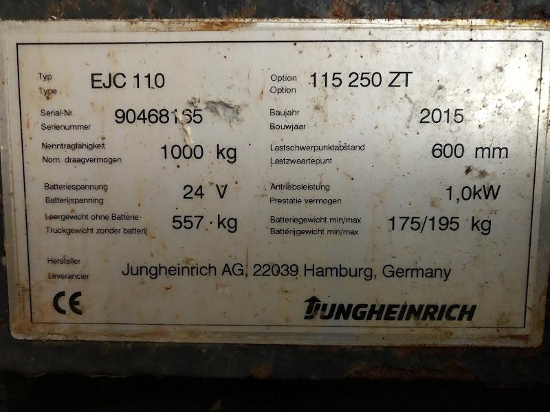 Picture of a JUNGHEINRICH EJC 110