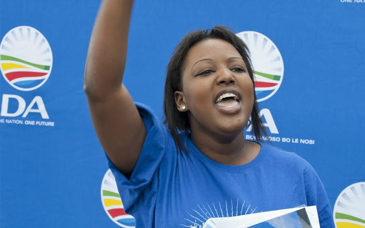 Former DA youth leader Mbali Ntuli wants to build a 'kind, strong and fair' party.