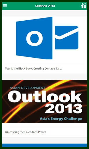 Learn for Outlook 2013