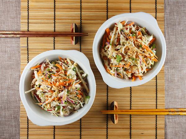 Asian Coleslaw Recipes -