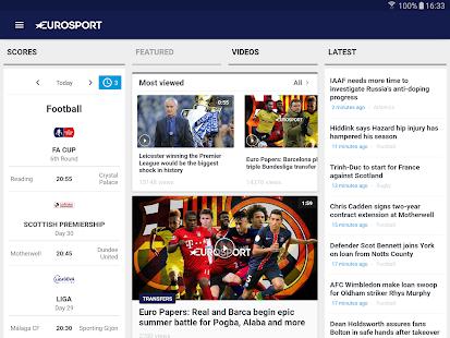 Eurosport Screenshot 9