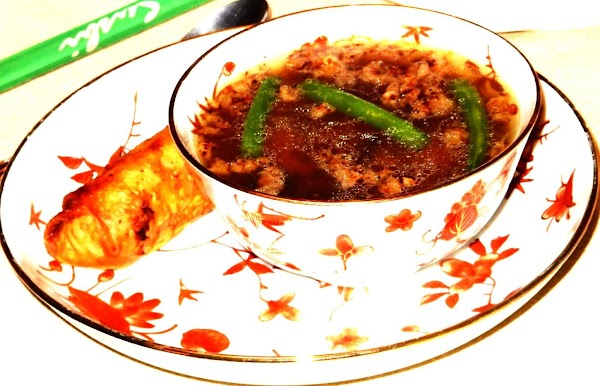 Three-flavored Sizzling Rice Soup Recipe