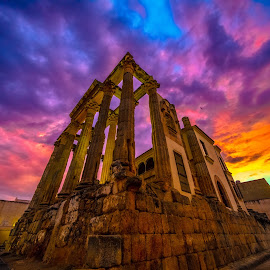 templo Diana, Mérida by -. Phooneenix .- - Buildings & Architecture Statues & Monuments