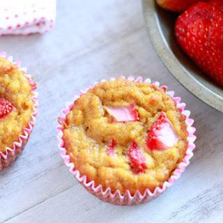 Strawberry Banana Muffins (gluten, grain, dairy, and nut free)
