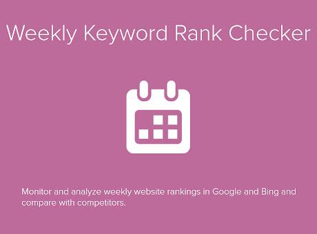 Weekly Keyword Rank Checker