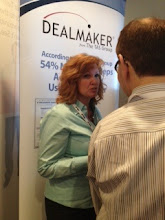 Photo: Senior Partner Cynthie Garner showcases Dealmaker at Sales 2.0 Conference in San Francisco — at Sales 2.0 Conf