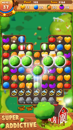 Farm Crush 2019 - Match Puzzle - screenshot