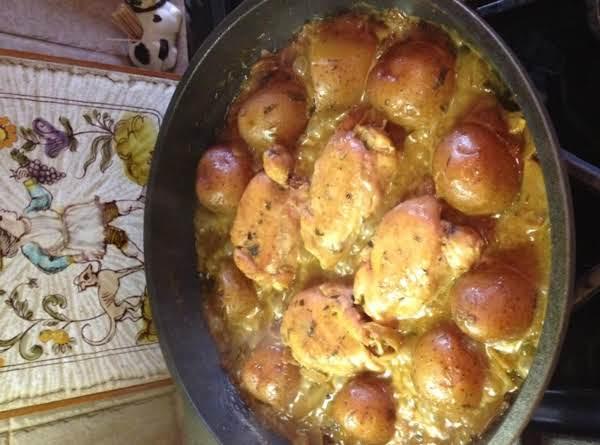 Pan Rstd Chicken In Porcini-shallot-tarragon Sauce Recipe