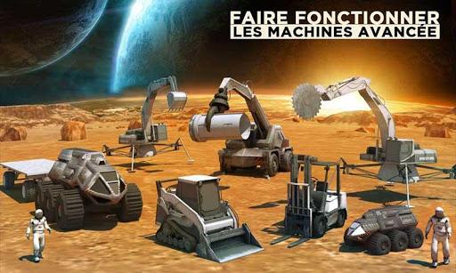 Code Triche Espace Ville Construction Simulateur Planète Mars mod apk screenshots 4