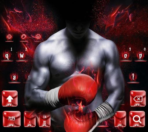 Boxing Punch Hero Keyboard Theme 10001003 screenshots 1