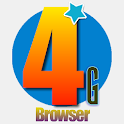 4G Rapid Best Browser icon