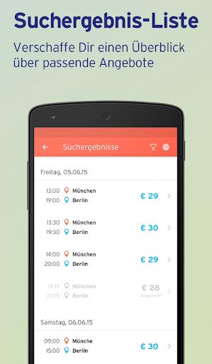 Mitfahrgelegenheit – Reise App screenshot 2