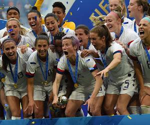 Verenigde Staten pakt brons in vrouwenvoetbal op Olympische Spelen