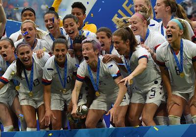 Team USA wint nieuwe oefenwedstrijd