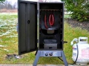 Soak your wood smoking chips for 30 minutes. Preheat the Smoker to 170 degrees...