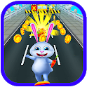 Rabbit Runner 3D - Endless Rabbit Run icon