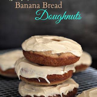 Gluten Free Banana Bread Doughnuts