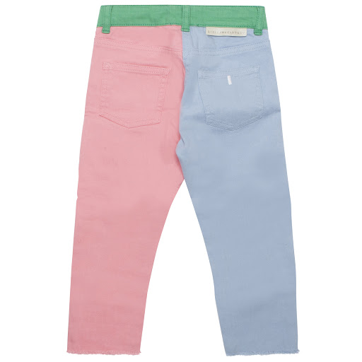 Thumbnail images of Stella McCartney Multi-Coloured Panel Jeans