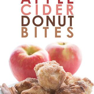 Apple Cider Donut Bites