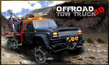 Offroad Tow Truck 3D 1.2 screenshot 1640339