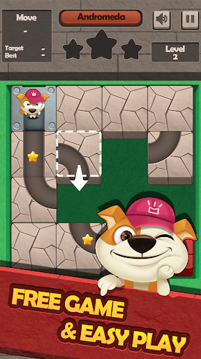 Download Slide Puzzle Puppy Rescue on PC & Mac with AppKiwi APK