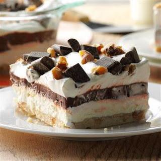 Easy Four-Layer Chocolate Dessert