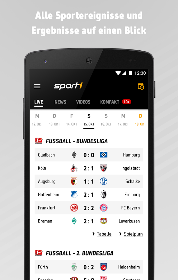 SPORT1: Sport News live- screenshot