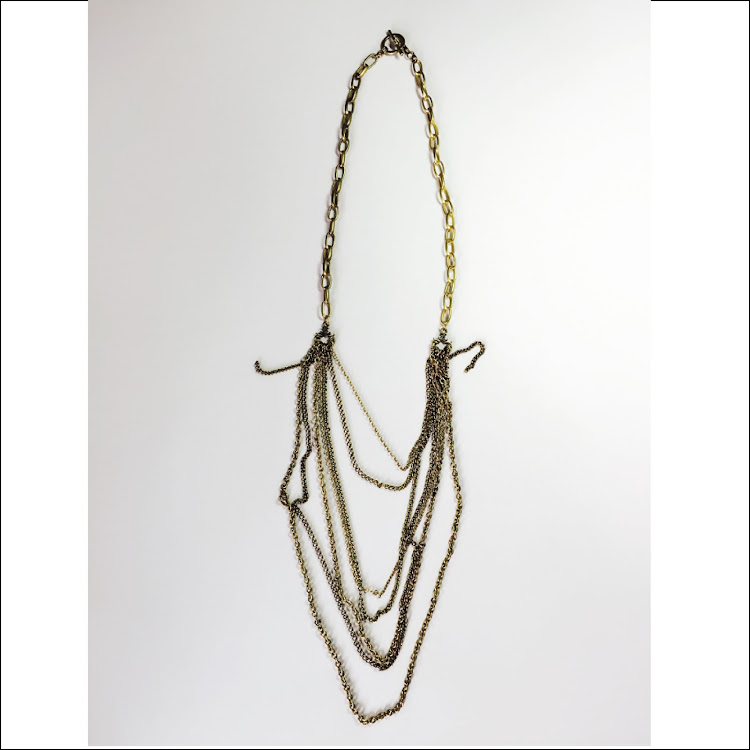 N003 - G. Vintage Multi-strand Necklace