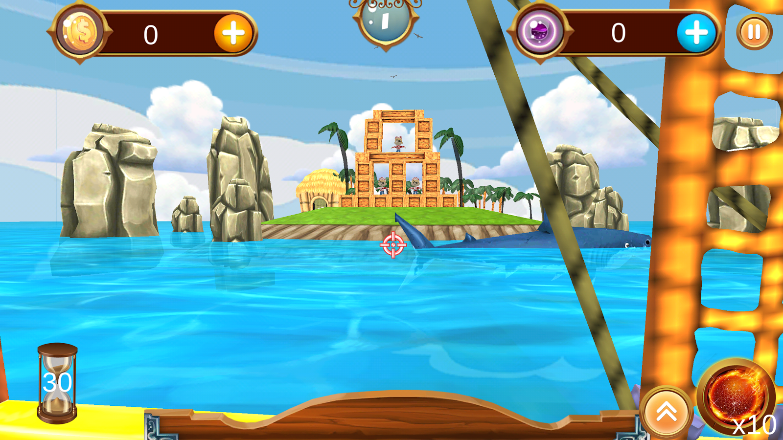 Siege of Pirate Bay- screenshot