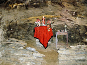 Photo: The shrine in the mine