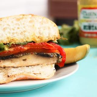 Gluten-Free Chimichurri Portobello Mushroom Burgers