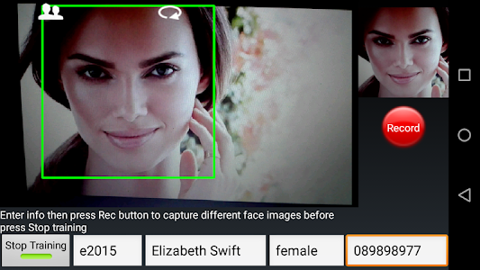 Face Recognition screenshot 3