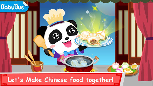 Panda Chef, Chinese Recipes-Cooking Game for Kids app (apk) free download for Android/PC/Windows screenshot