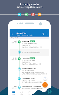 TripIt: Travel Organizer Screenshot