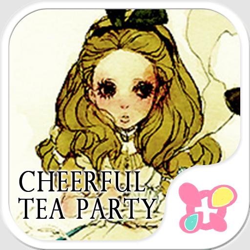 かわいい壁紙・アイコン Cheerful tea party 個人化 LOGO-玩APPs