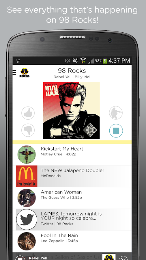98 Rocks- screenshot