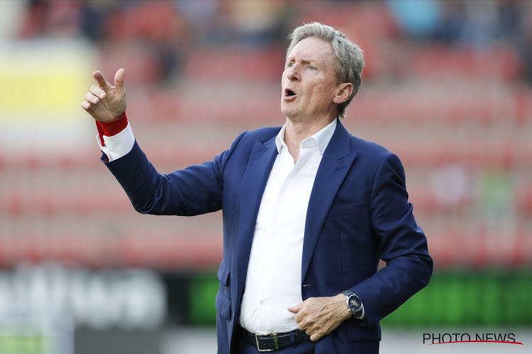 Zulte Waregem maintient sa confiance en Francky Dury